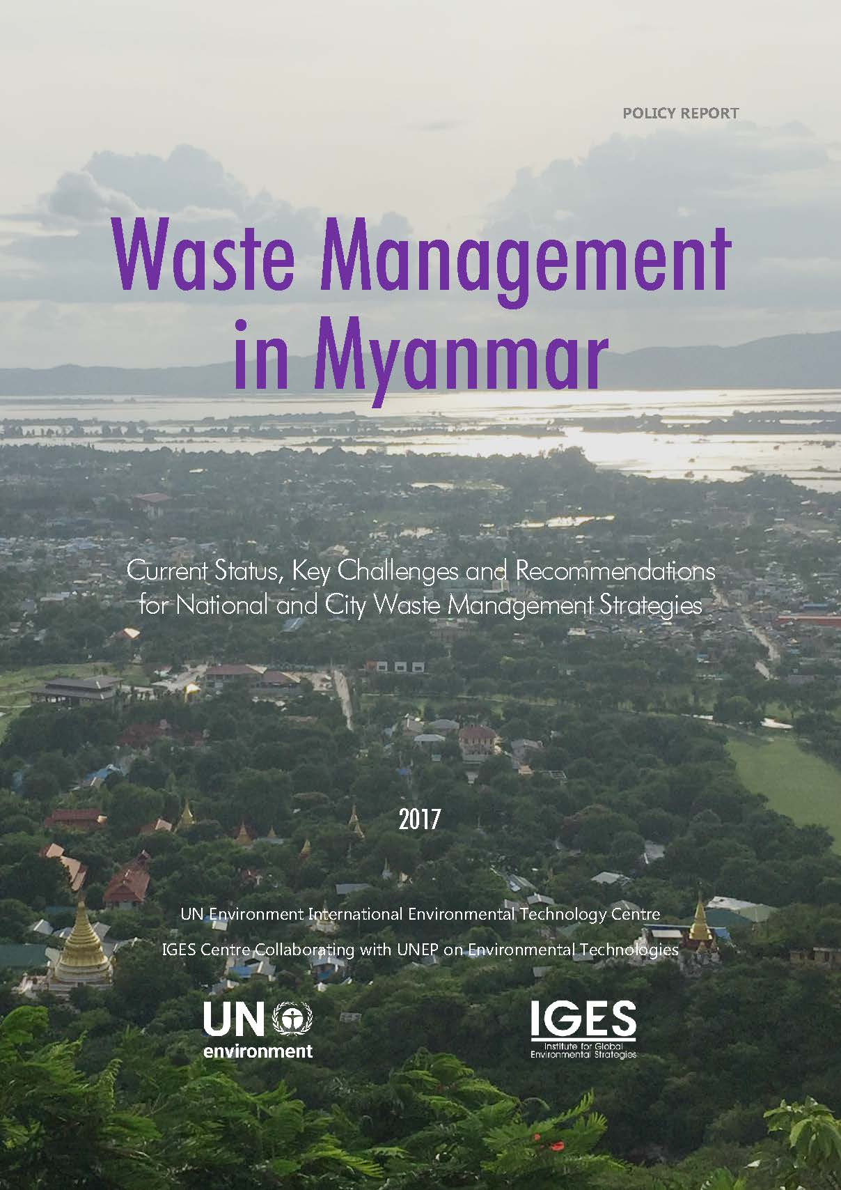 Policy Report_Myanmar_Waste_Management_English
