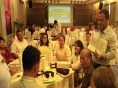 PhnomPenh-WasteManagementStrategyWorkshop-GroupDiscussion1