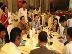 PhnomPenh-WasteManagementStrategyWorkshop-GroupDiscussion2